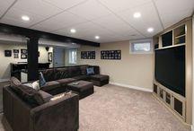 basement living ideas