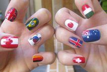 Nail flags