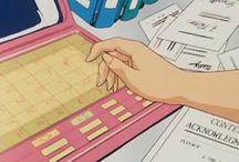 pink // anime