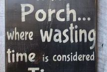Front porch deco ideas