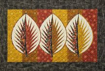 Three ~ Quiltworx.com Leaf Series / For more information about the Amazon Star pattern, visit https://www.quiltworx.com/patterns/three-quiltworx-com-leaf-series/. To be taken directly back to this pattern page on Quiltworx.com, simply click on any of the images below.  / by Quiltworx Judy Niemeyer