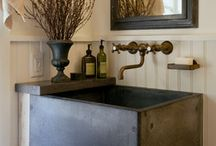 english country house laundries and mudrooms/cloakrooms