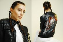 NATALI YURA / Art on jeans and leather jackets