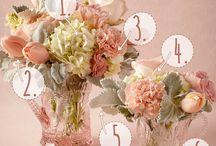 Peaches Cream & Tiffany Blue Weddings