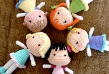 Bonecas de croché