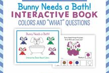 Interactive books / InterActive books for speech and language development and therapy