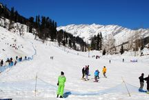 Kullu Manali / Exotic locations of Kullu and Manali. Breath taking views of snow-caped mountains and valleys of flowers.