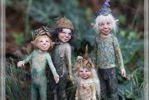 Feen, Gnome, Zwerge