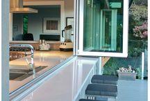 alfresco kitchen  window
