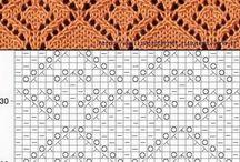 štrikovanie vzory