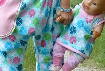 Nähen - Puppenkleidung