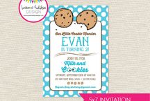 Party Time - Milk & Cookies / Birthday Party Fun