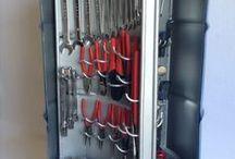 caixa de ferramentas diferentes