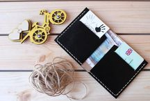 Minimalist Wallets / You may place your orders via our Online Store Please get in touch for queries and customised orders