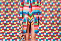Colourful Style Inspiration / Colour, pattern and shed loads of style to inspire our own wardrobes.