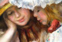 As meninas: pintores....escultores....outros...
