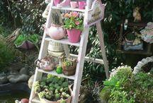 Gartenleiter
