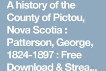 Pictou County, NS - Genealogy & History
