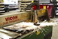 Metal Fabrication / Metal fabrication, working with:  Stainless Steel, Black Iron, Galvanized Iron, Copper, Brass, Aluminum.  Fabrication of:  Hoods, countertops, cladding, handrails, checker plate, ducting, fire pits, hoppers, signs, tables, sinks.