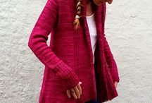 Knitting cardigans, jackets