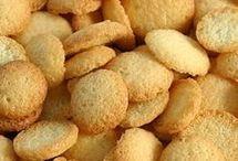 biscoito de milho com coco