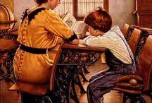 Moms readers in art history / Mamás lectoras en el arte