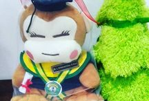 Boneka Wisuda Monyet