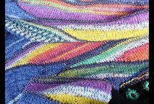 Tapestry & swing knitting