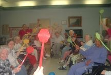 Nursing Home Activities / by Stacy Norris
