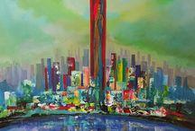 Atelier Hlavina Art - Painting - Acrylic