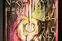 XIX. Tervezőgrafikai Biennálé / Egy analóg technikával készített plakát, csőtoll, ecset, festék, tustinta és papír. Számítógép nélkül, milyen klassz az élet!