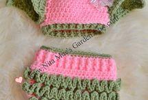 Baby crocheted