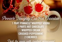 Pinnacle® Naughty List Hot Chocolate / Unwrap something delightful with Pinnacle® Vodka. The only vodka with over 40 playful flavors.