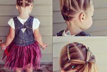 çocuk saç örgü modelleri