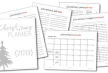 Christmas Organising Printables