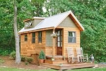 small cabins / by Gooseberry Creek Designs