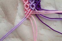 makramy ze sznurka