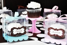 Cupcake Favors and Gifts! / Send guests home with a sweet treat! Check out these amazing cupcake favors and gift ideas by Dress My Cupcake!