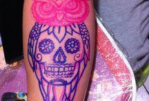 Mis tatuajes / Les presento una muestra de mis tatuajes: