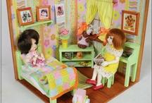Dioramas and furniture