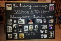 memorial boards