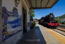 Estações de Comboios-Portugal