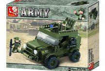 Sluban - my military vehicles 'brick' collection