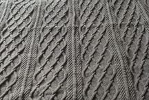 Knitting projects past and present