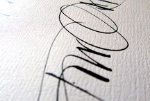 Follow Christel Llop / A french great calligraphic artist