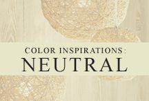 Color Inspiration: Neutral