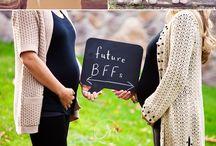 Pregnant sisters