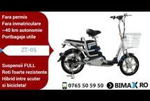 Bicicleta Electrica Z-tech ZT-05 / Imagini cu bicicleta electrica ZT-05 din oferta www.bimax.ro