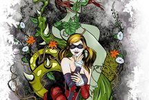 DC & Marvel things