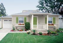 House - Exterior Paint Plans
